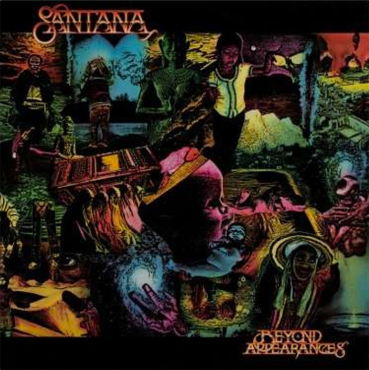 VINYL Santana - Beyond Appearances (LP)