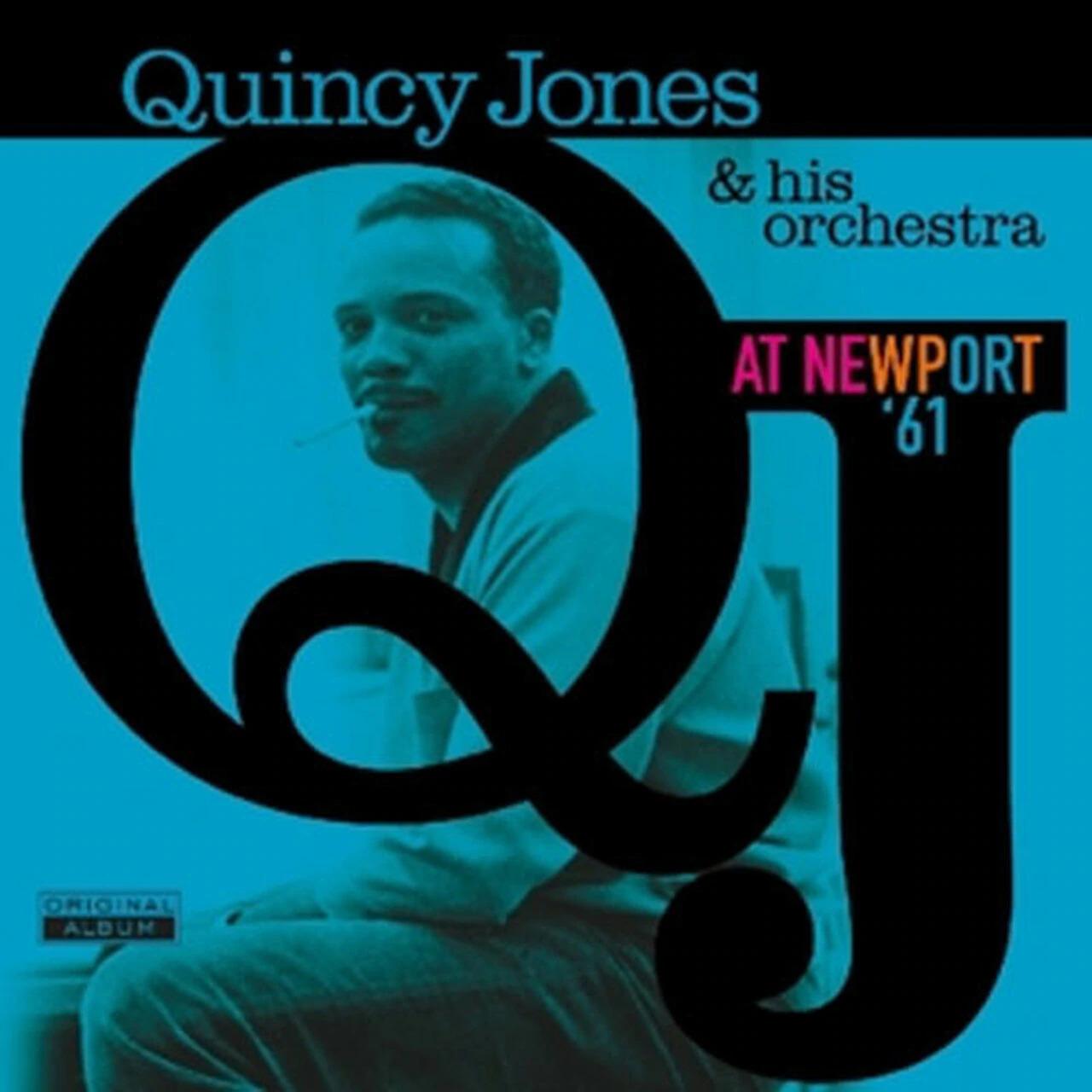 VINYL Quincy Jones At Newport '61 LP