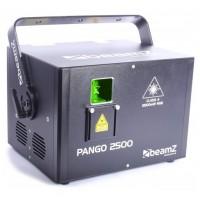 BeamZ Laser PRO Pango 2500, 2,5W,  RGB, animační laser, ILDA, DMX,