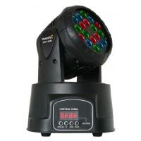 BeamZ LED otočná hlavice 18x3W RGB LED, DMX, Wash