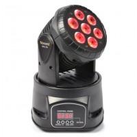 BeamZ LED otočná hlavice 7x10W RGBW LED, DMX Černá