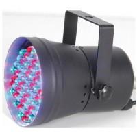 BeamZ LED PAR 36 černý