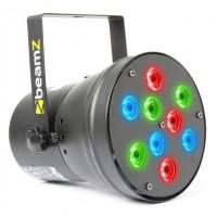 BeamZ LED PAR-36 Spot 9x 1W RGB LEDs
