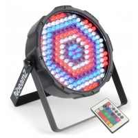 BeamZ LED FlatPAR 186x 10mm RGBW, IR, DMX