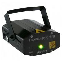 BeamZ Multipoint Laser R/G 170 mW červená/zelená