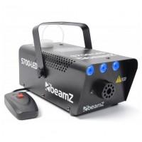 BeamZ S700-LED Ice Efekt, modrý, výrobník mlhy