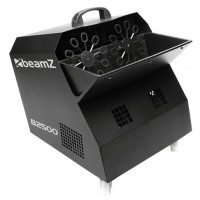 BeamZ Double Bubble Machine, černý párty bublifuk