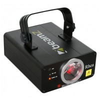 BeamZ Laser Rhea 200mW červený, DMX