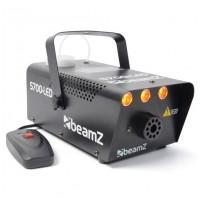 BeamZ S700-LED Flame Efekt, oranžový, výrobník mlhy