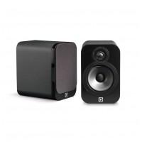 Q Acoustics 3020 Čierna koža