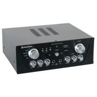 Skytec Karaoke zesilovač FM / USB / SD, černý