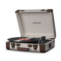 Crosley Executive Linen/Brown