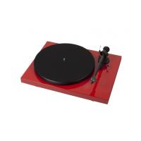 ProJect Debut Carbon Phono DC USB + OM 10 Červený