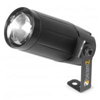 BeamZ LED Spot 6W, 10°, černý