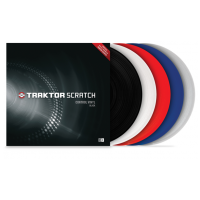 Native Instruments Timecode MKII vinyl rudá