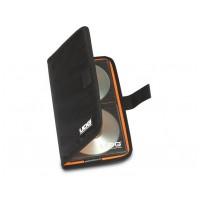 UDG Ultimate CD Wallet 24 černá / oranžový vnitřek