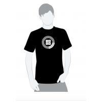 Techhouse tričko pánske techhouse čierne S