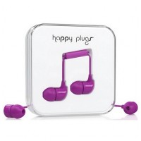 Happy Plugs In-Ear Purpurová