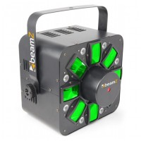 BeamZ BeamZ LED Multi Acis III s laserem, DMX, světelný efekt