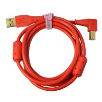 DJ-Tech Chroma Cable angled Red