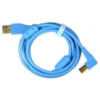 DJ-Tech Chroma Cable angled Blue