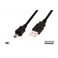 Digitus Premium kabel USB A samec na B-mini 5pin samec