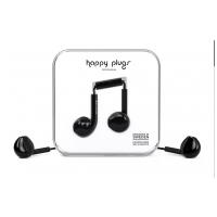 Happy Plugs Earbud Plus  Čierna