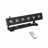 Eurolite LED osvětlení BAR 6x10W HCL RGBAW+UV, DMX, IR ovládání