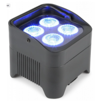 BeamZ Uplight PAR64 Battery 4x 10W RGBAW+UV