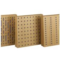 AQ Akustický tlumící panel dub 1A - oválné otvory