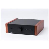 ProJect Pre Box DS2 analogue černý / ořechové boky