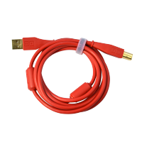 DJ TechTools Chroma Cable straight Red