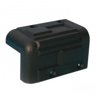 Adam Hall Hardware 4071 Cabinet Corner plastic stackable black