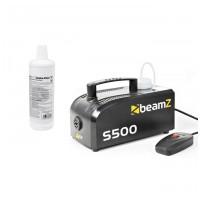 BeamZ S-500, výrobník dymu + 1L  kvalitní kapaliny ZDARMA