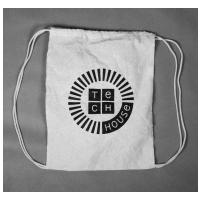 Techhouse batoh plátený  béžová natural