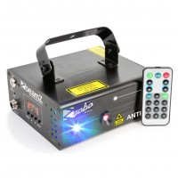 BeamZ Laser Anthe II Double 600mW RGB Gobo, DMX, DO