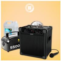 ION Party Rocker PLUS +  Beamz výrobník mlhy 500W s 5l náplní ZDARMA