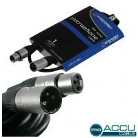 Accu-Cable AC-PRO-XMXF/1 XLR m/f  1m
