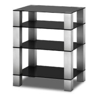 Sonorous RX 5040 C-INX číre sklo/nohy nerez (hliník)