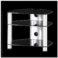Sonorous RX 2130 B-SLV – černé sklo / stříbrné nohy