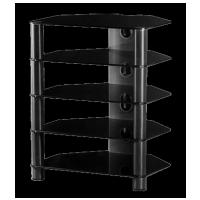 Sonorous RX 2150 B-HBLK Čierne sklo / čierne nohy