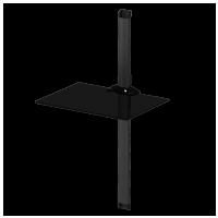 Sonorous PL 2610  B-BLK – černé sklo / černá lišta