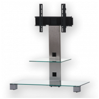 Sonorous PL 2500  C-INX - číre sklo / nohy nerez (hliník)