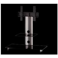 Sonorous PL 2200  B-SLV - čierne sklo / strieborné nohy