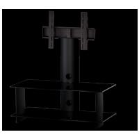 Sonorous PL 2195 B-BLK – černé sklo / černé nohy Čierna