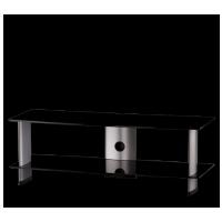 Sonorous PL 3110  B-SLV - čierne sklo / strieborné nohy