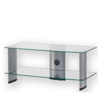 Sonorous PL 3115 C-SLV – čiré sklo / stříbrné nohy Strieborná