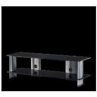 Sonorous PL 3150  B-SLV - čierne sklo / strieborné nohy