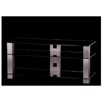 Sonorous PL 3400  B-INX - čierne sklo / nohy nerez (hliník)