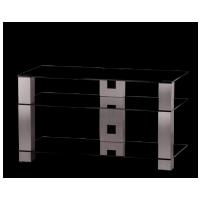 Sonorous PL 3405  B-INX - čierne sklo / nohy nerez (hliník)